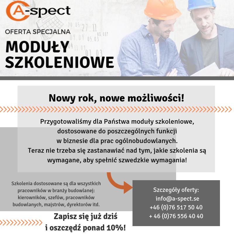 Nowa oferta A-spect!